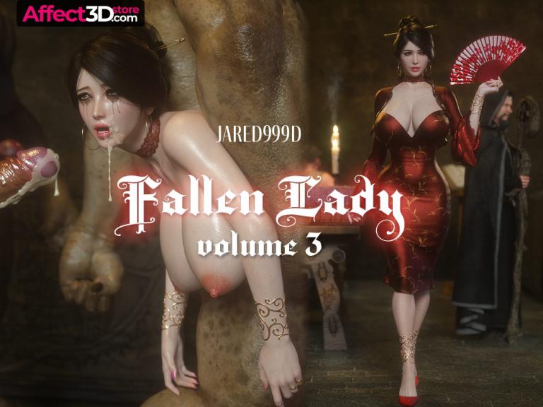 【A3D】[Jared999D] Fallen Lady 3(无水印版)